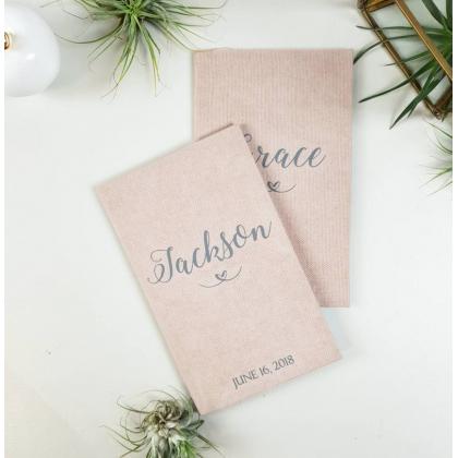 """Personalizuotos vestuvių priesaikų/įžadų knygutės """"JADA"""". 2 vnt."""