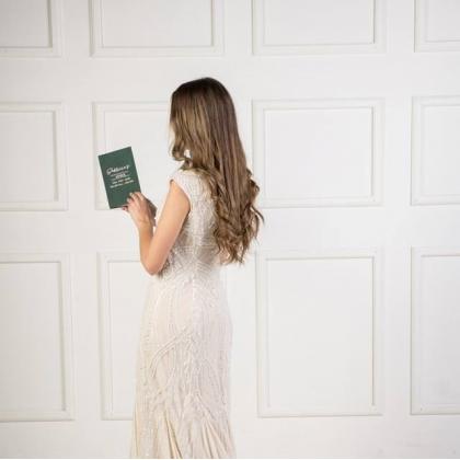 """Personalizuotos vestuvių priesaikų/įžadų knygutės""""SABRINA"""". 2 vnt."""