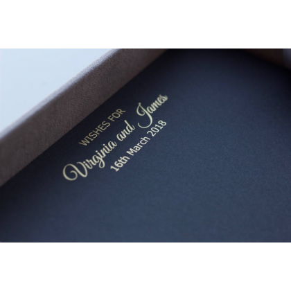 Color For Names And Date Letters On The Top Of Cards, Vows or Album Pages