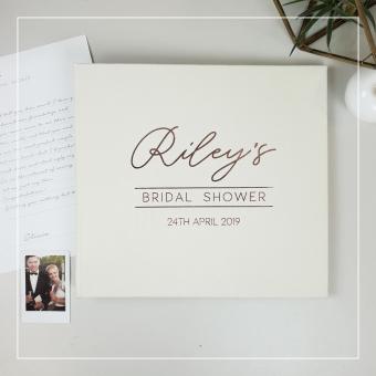 BRIDAL SHOWER GUEST BOOK